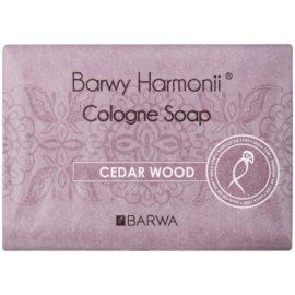 Barwa Harmony Cedar Wood tuhé mydlo s hydratačným účinkom  200 g
