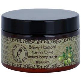 Barwa Harmony Green Olive telové maslo  220 ml