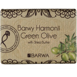 Barwa Harmony Green Olive Seife mit Bambus Butter  200 g