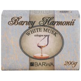 Barwa Harmony White Musk tuhé mydlo s vyhladzujúcim efektom  200 g