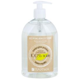 Barwa Natural Hypoallergenic tekuté mýdlo bez parfemace  500 ml