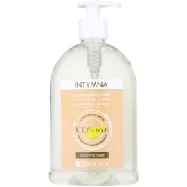 Barwa Natural Hypoallergenic intim higiéniás frissítő gél   500 ml