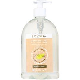 Barwa Natural Hypoallergenic osvěžující gel na intimní hygienu  500 ml