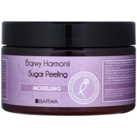 Barwa Harmony Modelling exfoliant din zahar anti celulita Chilli & Cranberry Extract 250 ml