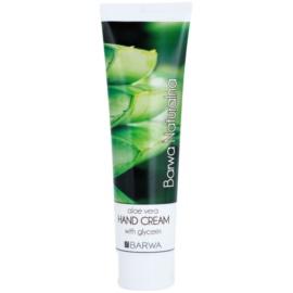 Barwa Natural Aloe Vera regenerierende Creme für Hände und Fingernägel  100 ml