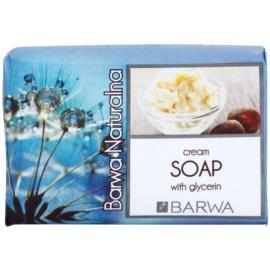 Barwa Natural Cream tuhé mýdlo s glycerinem  100 g