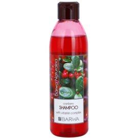 Barwa Natural Cranberry šampon pro objem  300 ml