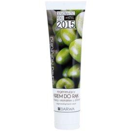 Barwa Natural Green Olive regenerierende Creme für Hände und Fingernägel  100 ml