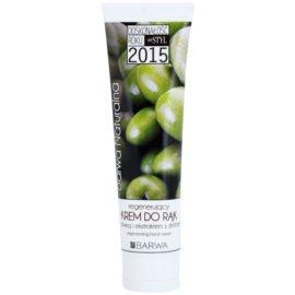 Barwa Natural Green Olive відновлюючий крем для рук та нігтів  100 мл