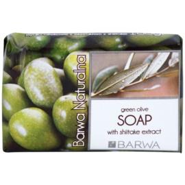 Barwa Natural Green Olive Feinseife mit glättender Wirkung  100 g