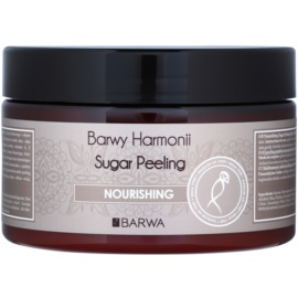 Barwa Harmony Nourishing Zuckerpeeling zum Nähren und für die sanfte Reinigung der Haut Maple Syrup & Cottom Seed Oil 250 ml
