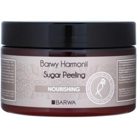 Barwa Harmony Nourishing Suiker Peeling voor Zachte Reiniging en Huidvoeding Maple Syrup & Cottom Seed Oil 250 ml