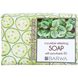 Barwa Natural Cucumber Refreshing tuhé mýdlo s provitamínem B5  100 g
