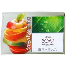 Barwa Natural Vitamins tuhé mydlo s vyhladzujúcim efektom  100 g