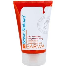 Barwa Sulphur antibakteriális tisztító gél  120 ml