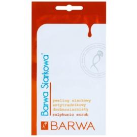 Barwa Sulphur jemný peeling pro stažení pórů  2 x 5 ml