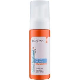 Barwa Sulphur Quick Washing Foam For Problematic Skin  150 ml