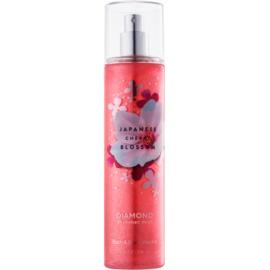 Bath & Body Works Japanese Cherry Blossom Body Spray for Women 236 ml glittering