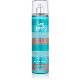 Bath & Body Works Live Fresh Seaside Breeze Body Spray for Women 236 ml