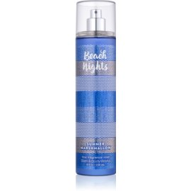 Bath & Body Works Beach Nights Summer Marshmallow spray corpo per donna 236 ml