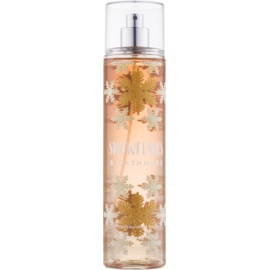 Bath & Body Works Snowflakes & Cashmere spray corpo per donna 236 ml