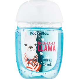 Bath & Body Works PocketBac Fa-la-la-la Llama gel mains Icy Apple 29 ml