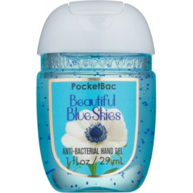 Bath & Body Works PocketBac Beautiful Blue Skies gel para manos  29 ml