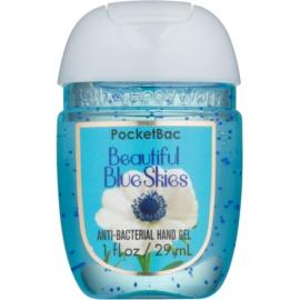 Bath & Body Works PocketBac Beautiful Blue Skies antibakterielles Gel für die Hände  29 ml