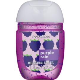 Bath & Body Works PocketBac Purple Rain antibakterielles Gel für die Hände  29 ml
