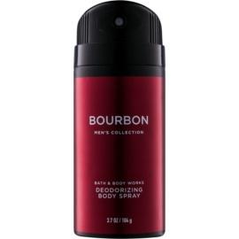 Bath & Body Works Men Bourbon dezodorant w sprayu dla mężczyzn 104 g