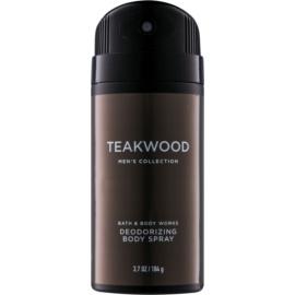 Bath & Body Works Men Teakwood déo-spray pour homme 104 g