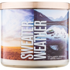 Bath & Body Works Sweater Weather bougie parfumée 411 g