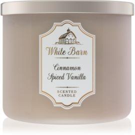 Bath & Body Works White Barn Cinnamon Spiced Vanilla świeczka zapachowa  411 g