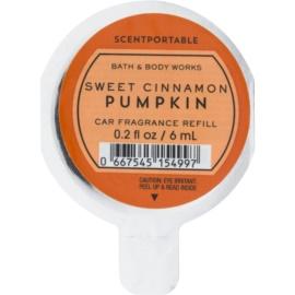 Bath & Body Works Sweet Cinnamon Pumpkin parfum pentru masina 6 ml Refil