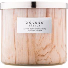 Bath & Body Works Golden Citrus vonná svíčka 411 g