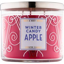 Bath & Body Works Winter Candy Apple illatos gyertya  411 g