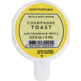Bath & Body Works Champagne Toast Autoduft 6 ml Ersatzfüllung
