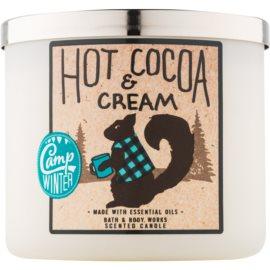 Bath & Body Works Camp Winter Hot Cocoa & Cream Duftkerze  411 g