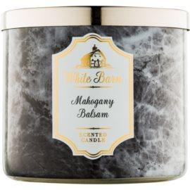 Bath & Body Works White Barn Mahogany Balsam świeczka zapachowa  411 g