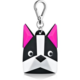 Bath & Body Works PocketBac Boston Terrier silikonový obal na antibakteriální gel