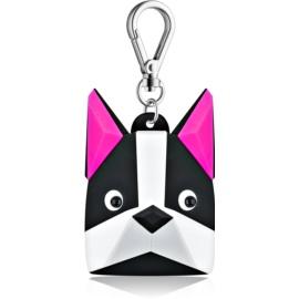 Bath & Body Works PocketBac Boston Terrier silikónový obal na gél na ruky