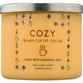 Bath & Body Works Cozy: Warm Cup of Cocoa Duftkerze  411 g
