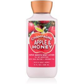 Bath & Body Works Champagne Apple & Honey tělové mléko pro ženy 236 ml