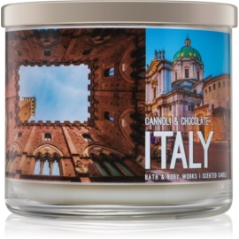 Bath & Body Works Cannoli & Chocolate Geurkaars 411 gr  Italy