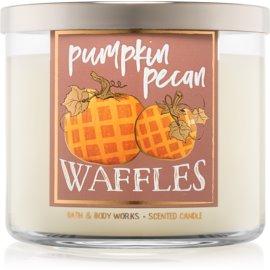 Bath & Body Works Pumpkin Pecan Waffles vela perfumada  411 g