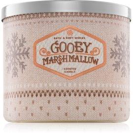 Bath & Body Works Gooey Marshmallow illatos gyertya  411 g