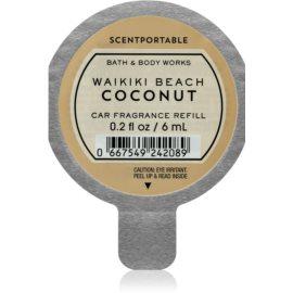 Bath & Body Works Waikiki Beach Coconut illat autóba utántöltő 6 ml