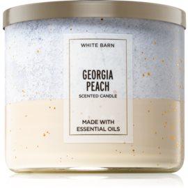 Bath & Body Works Georgia Peach dišeča sveča  III. 411 g
