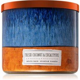 Bath & Body Works Fresh Coconut & Eucalyptus Duftkerze  411 g