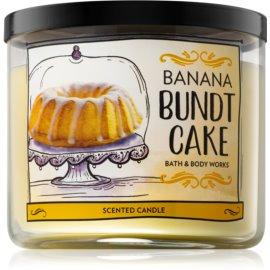Bath & Body Works Banana Bundt Cake Duftkerze  411 g
